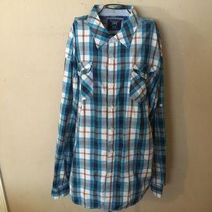 🎉Mens akademiks button down shirt size 5XL🎉